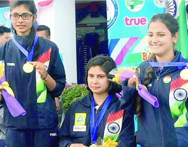 Rubina Francis creates history, clinches gold in World Shooting Para Sport
