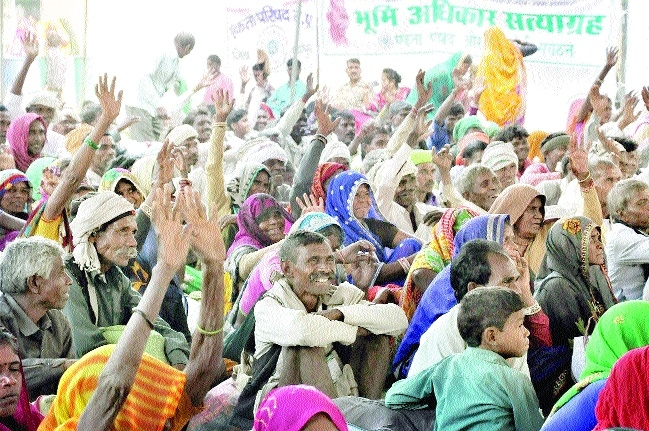 Mass movement for land rights to be launched in 2018