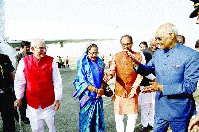 Prez Kovind given warm send off