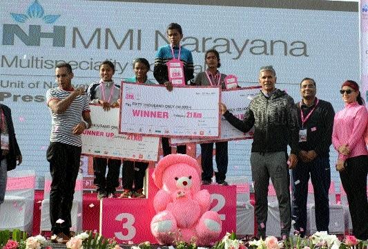 'Raipur Going Pink': Nagpur girl Prajakta bags first prize