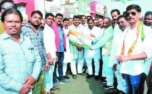 Congress celebrates Chitrakoot triumph