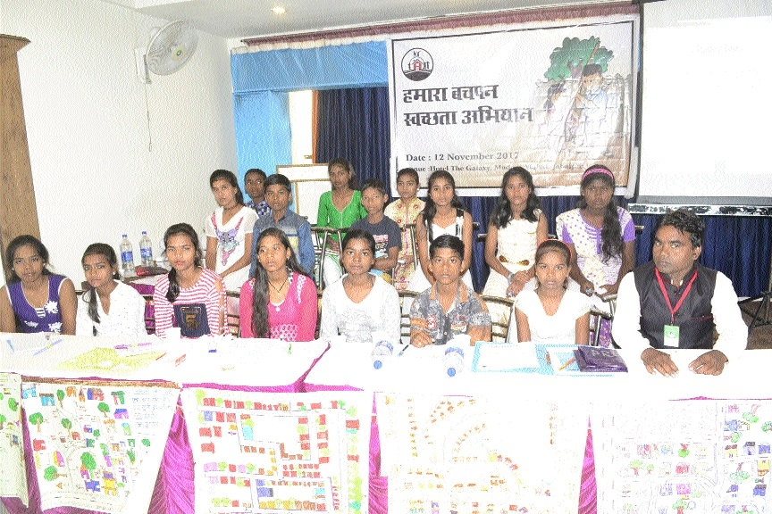 Humara Bachpan volunteers become true ambassadors of Swachhta Abhiyan