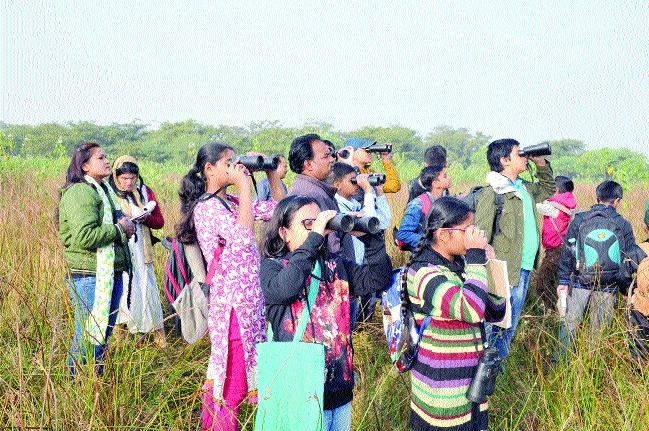 Bird watching programme held to mark Dr Salim Ali's birth anniversary