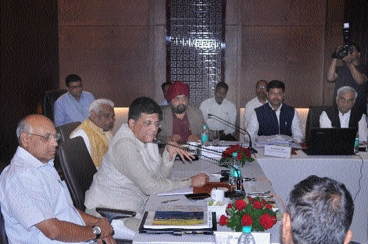 Rly Minister Piyush Goyal emphasises on implementation of technologies