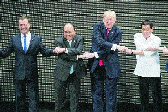 'ASEAN handshake' a trouble for Trump!