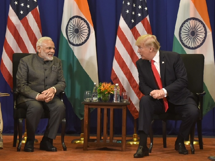 US and India can rise beyond bilateral ties: Modi to Trump
