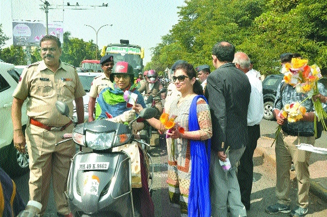 Citizens made aware about obeying traffic rules