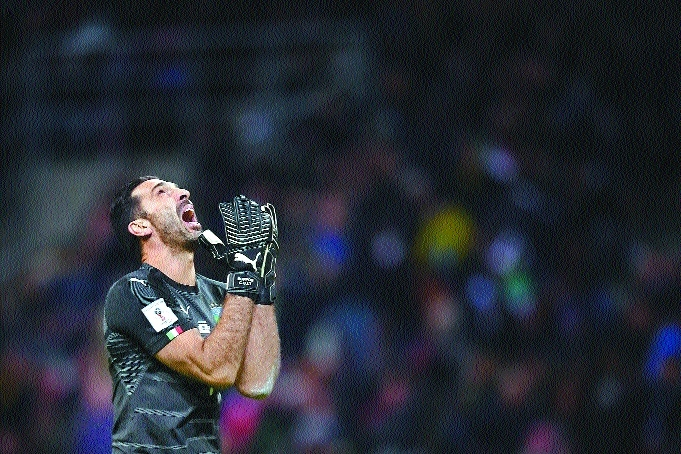Italy keeper Buffon ends Intl career