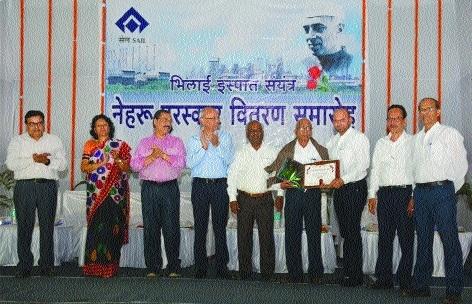 754 BSP employees get Nehru Awards