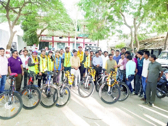 BSSS Pedal Club holds cycle rally