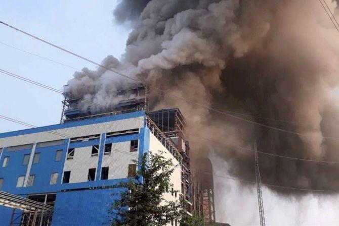 20 killed in boiler blast at NTPC unit in Rae Bareli