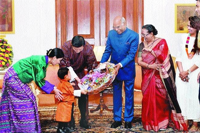 Kovind praises Bhutan King Jigme's role in resolving Doka La row with China