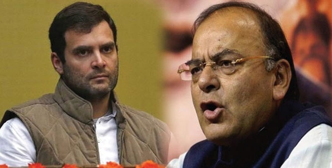 Rahul, Jaitley trade barbs over 'ease of doing business' ranking