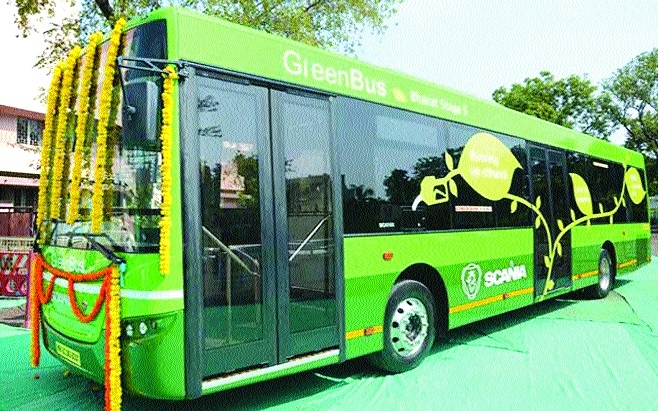 PESO's nod to Green Bus service in city