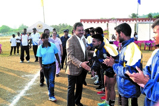 RDU starts campaign with a bang in All India Handball