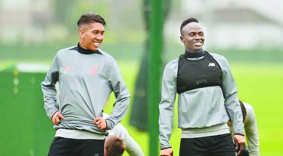 Liverpool's Firmino and Mane to return