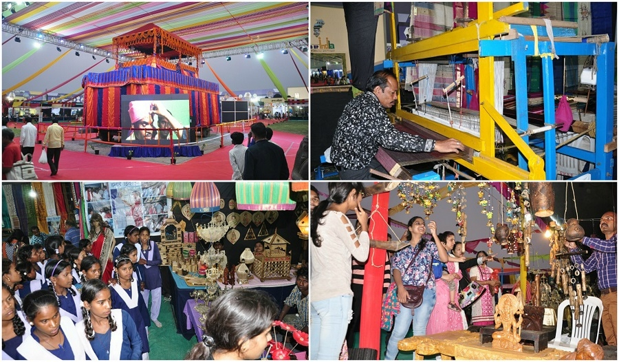 Shilp Gram becomes centre of attraction for visitors