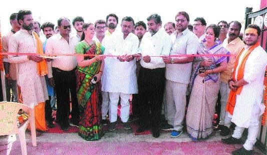 Sharad Jain inaugurates JDA office for schemes