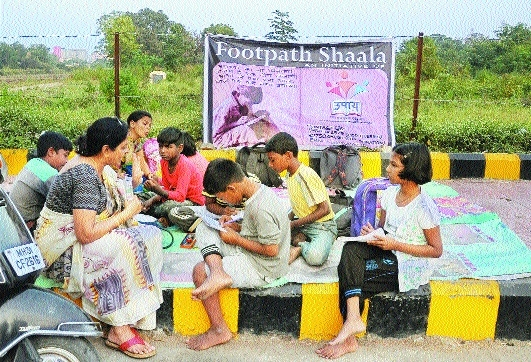 Footpath Shaala vows to educate every kid