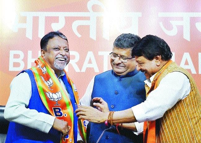 Mukul Roy joins BJP, says, Bengal wants alternative to Mamata