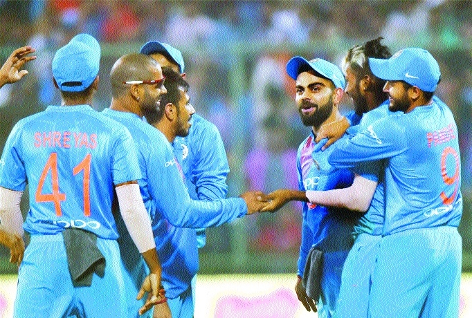 India aim to wrap up series