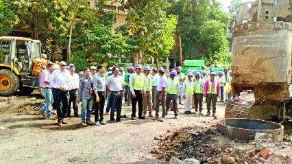 Maha Metro starts construction of viaduct at Sitabuldi-Automotive Sq