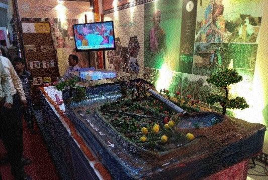 Swachhta models, banners remain centre of attraction