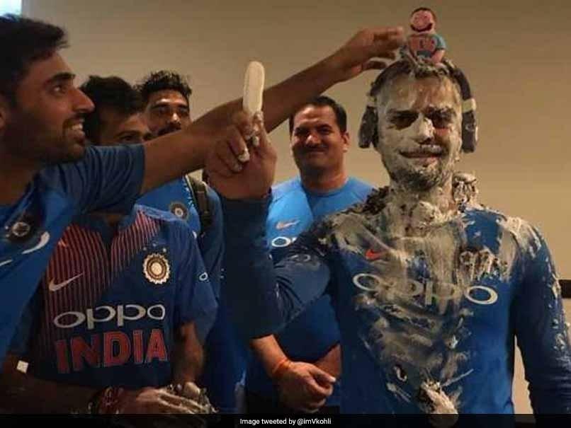 Virat celebrates 29th birthday