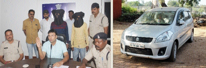 2 held from Odisha in loot at gun point case