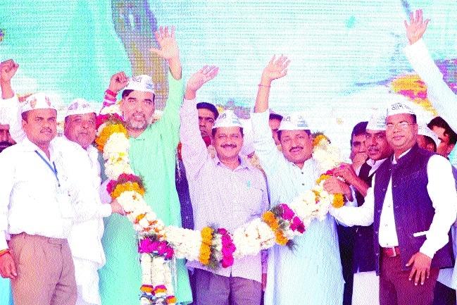 Shankhnaad needed in MP, feels Arvind Kejriwal
