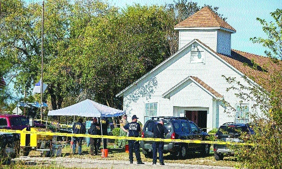 26 killed in shooting inside Texas church