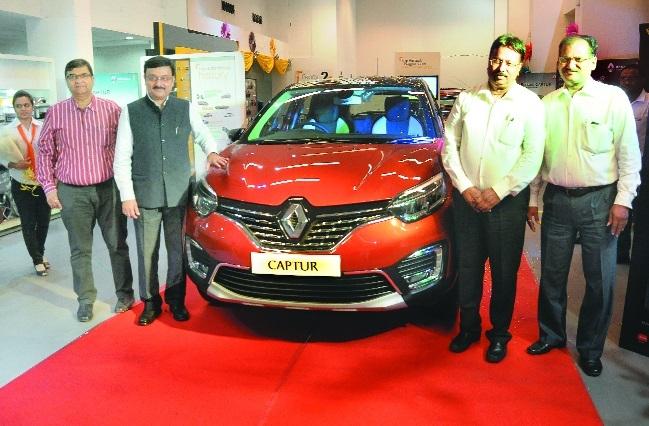 Renault Captur launched at Unnati Vehicles
