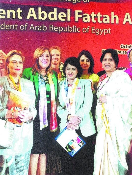 Bhatnagar represents Indian women in meet