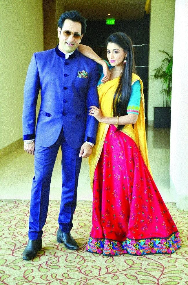 Actor Rajeev makes a comeback in TV, whereas destiny makes Tanvi an actress