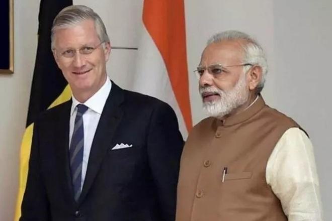 Modi, Belgian King hold talks to boost ties