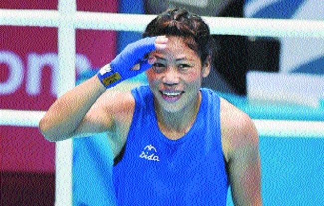 Mary Kom, S onia in final