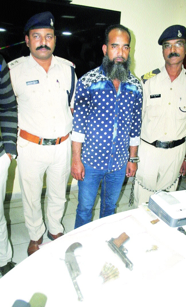 Absconding notorious goon nabbed