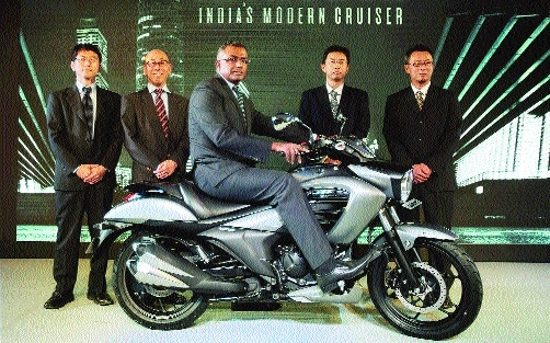 Suzuki launches new 155cc Intruder