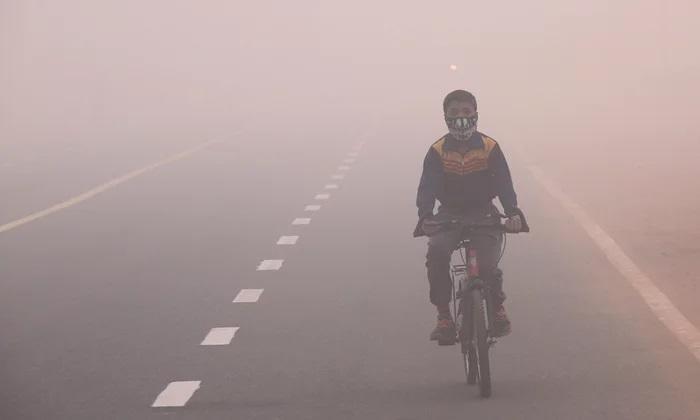 Zero visibility, toxic air; Delhi woes continue