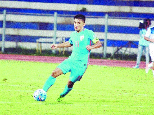 Fierce competition from age-group squads need of hour, feels Chhetri