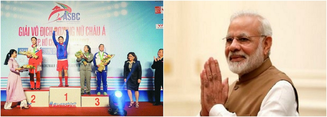 Elated at your accomplishment, PM to Mary Kom