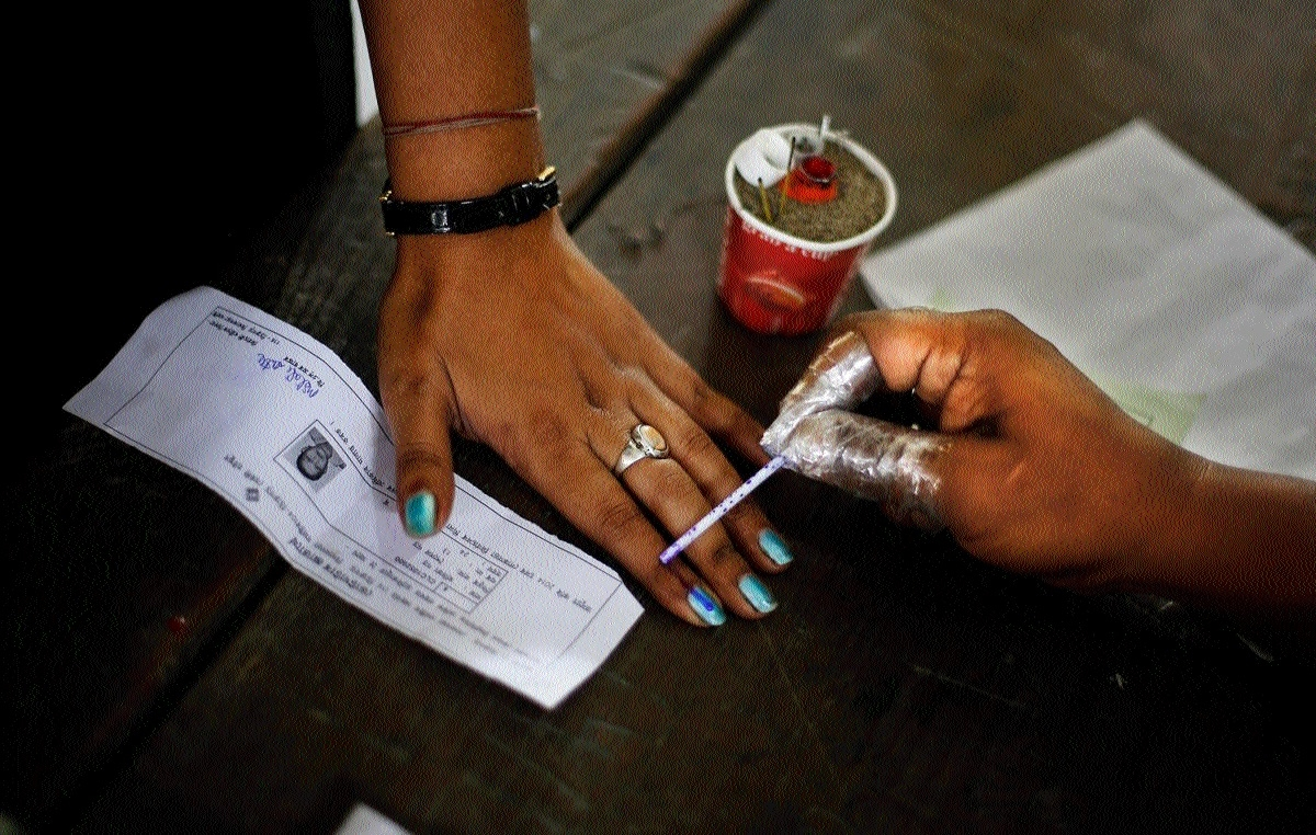 Polling for Chitrakoot Assembly seat today