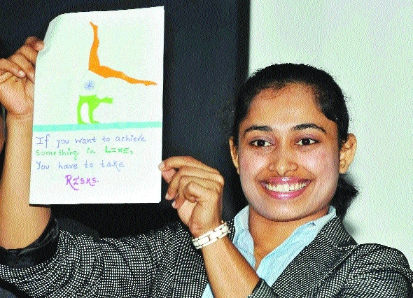 Dipa looks up to Aliya Mustafina for inspiration