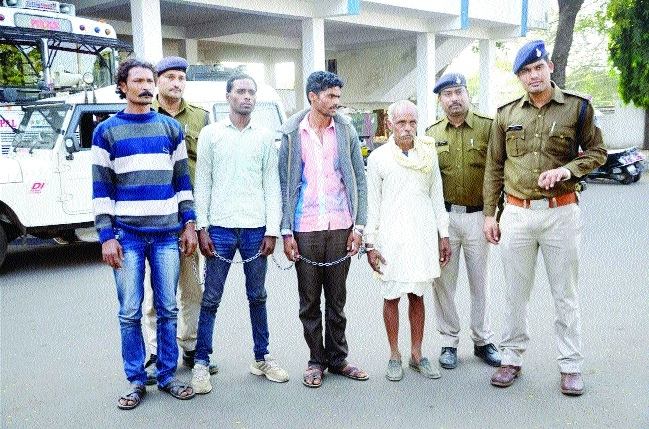 Absconding man-son held for human trafficking