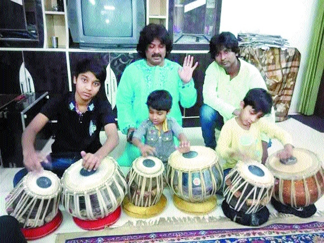 Family of 50 tabla players carrying forward tradition