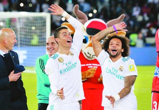 Ronaldo retains Club WC for Real