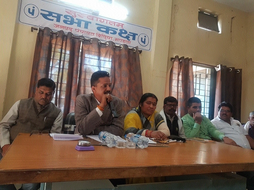 Meeting of Health, Child Welfare Departments held at Bichhia