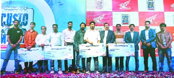 Winners of Nagpur City Finale of Honda NAVi Customania declared