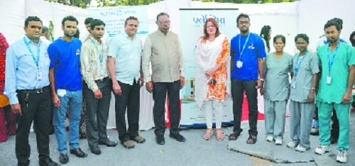 Alexis Multispecialty Hospital takes part in 'Maha Arogya Shibir'