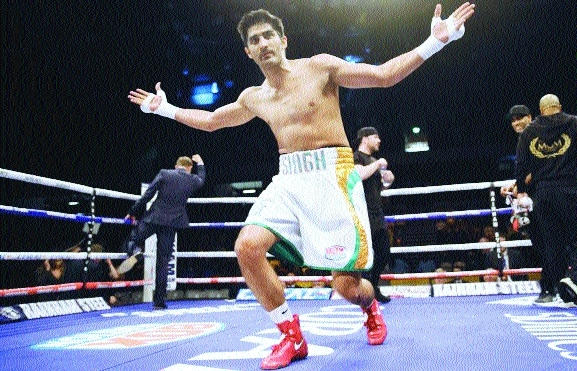 'Confident of knock-out win by Vijender'